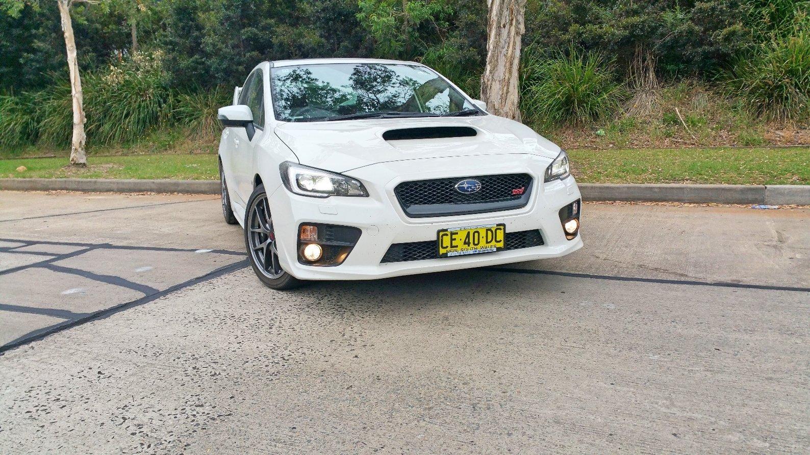 Brilliant Auto Review 2016 Subaru WRX STi Premium  Exhaust Notes Australia  Setting