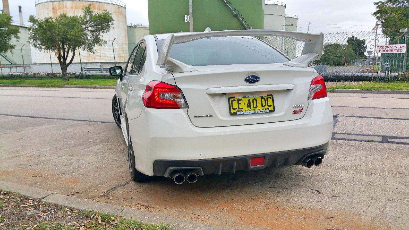 Excellent Auto Review 2016 Subaru WRX STi Premium  Exhaust Notes Australia  Setting