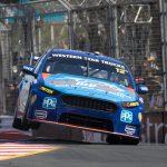 Racing hard at the 2016 Gold Coast 600