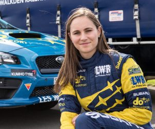 Subaru do Motorsport driver Molly Taylor