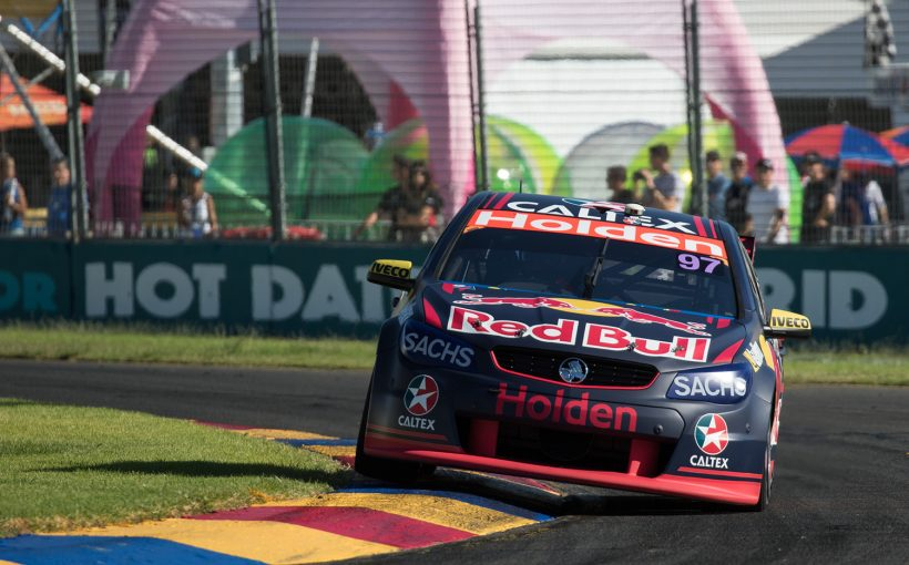 Red Bull Holden Racing's Shane van Gisbergen