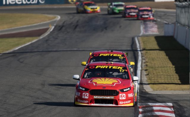 Scott McLaughlin and Fabian Coulthard