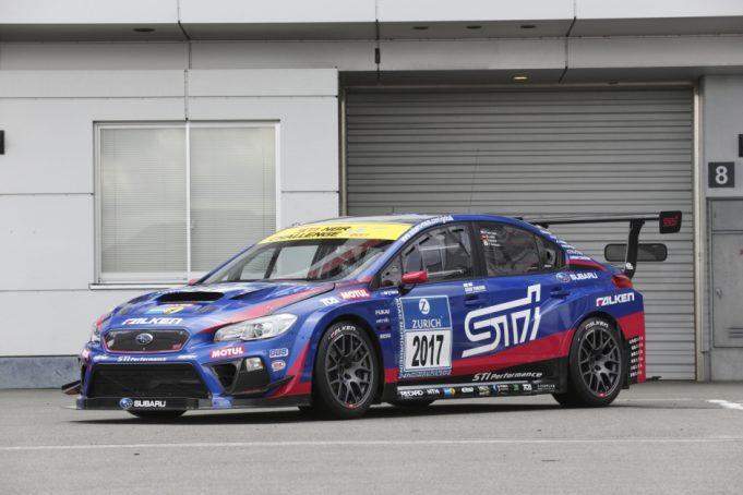 Subaru WRX STI For Nürburgring 24-Hour Race