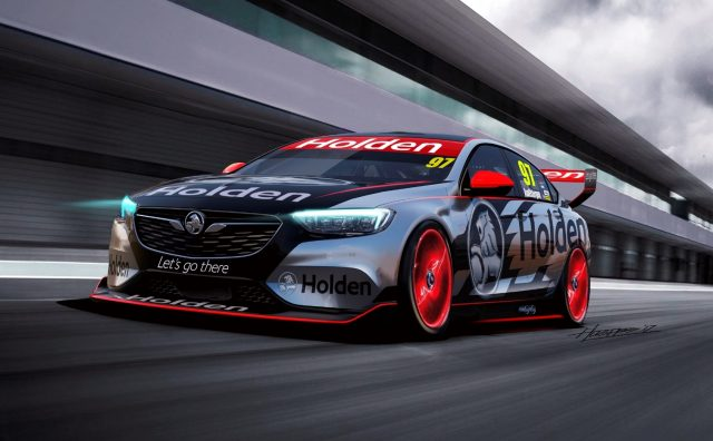 2018 Holden Commodore Supercar Concept