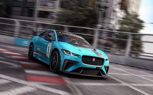 2018 Jaguar i-Pace set to race
