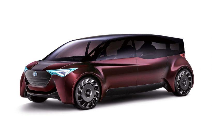 Toyota Fine Comfort Ride concept vehicle