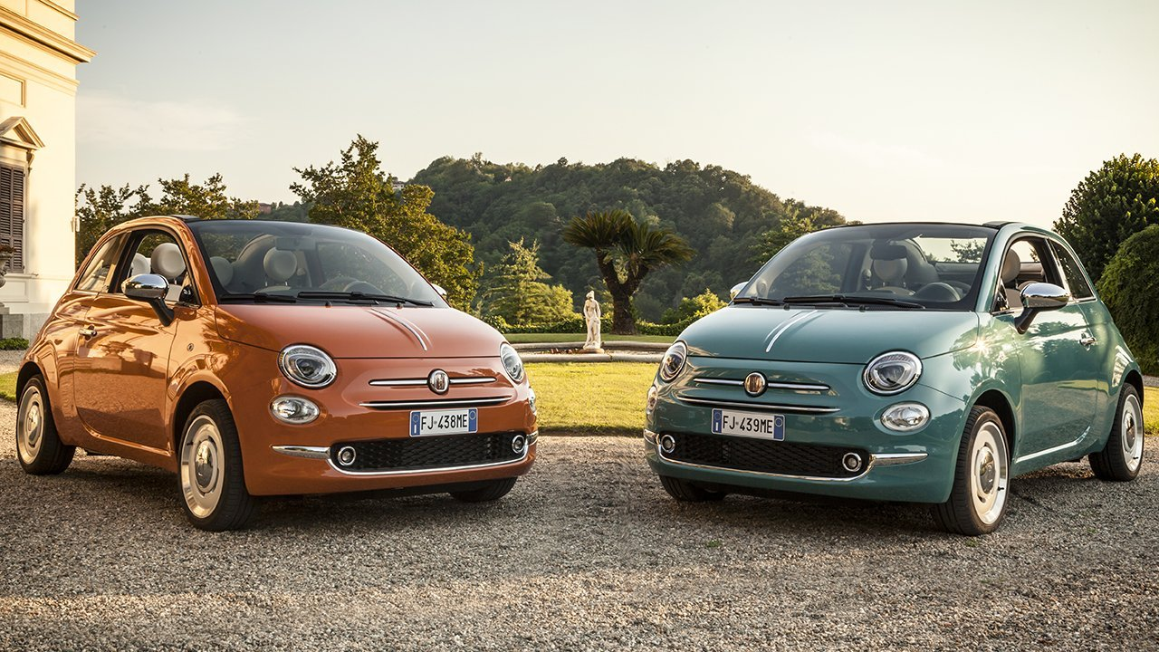 2017 Fiat 500 Anniversario Special-Edition