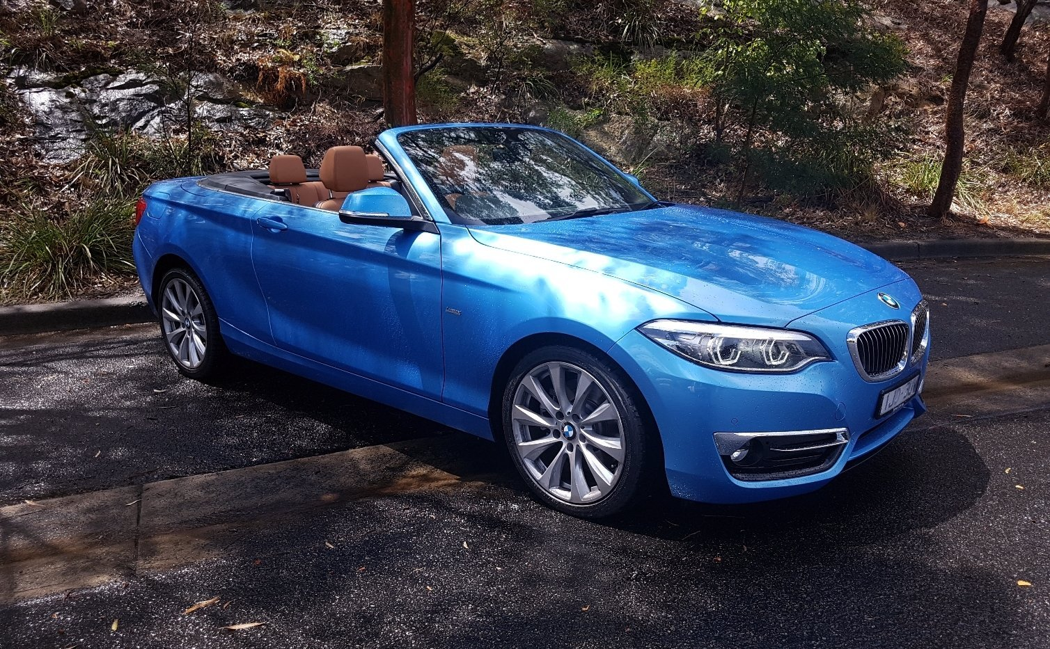 auto review 2018 bmw 230i convertible exhaust notes australia. Black Bedroom Furniture Sets. Home Design Ideas