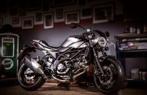 2018 Suzuki SV650X cafe racer