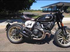 2017 Scrambler Ducati Cafe Racer