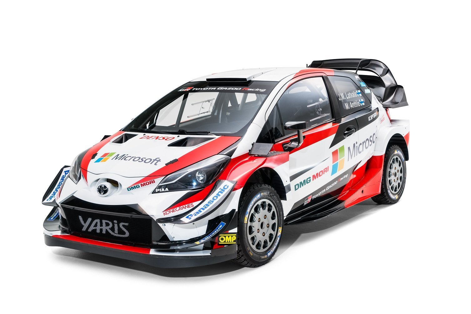 2018 Toyota Gazoo WRC Yaris