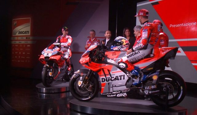 Ducati launches Desmosedici GP18 MotoGP bike