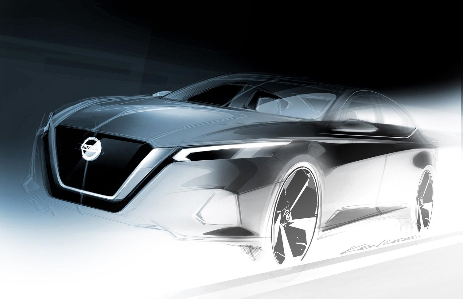Nissan Altima previewed ahead NY auto show debut