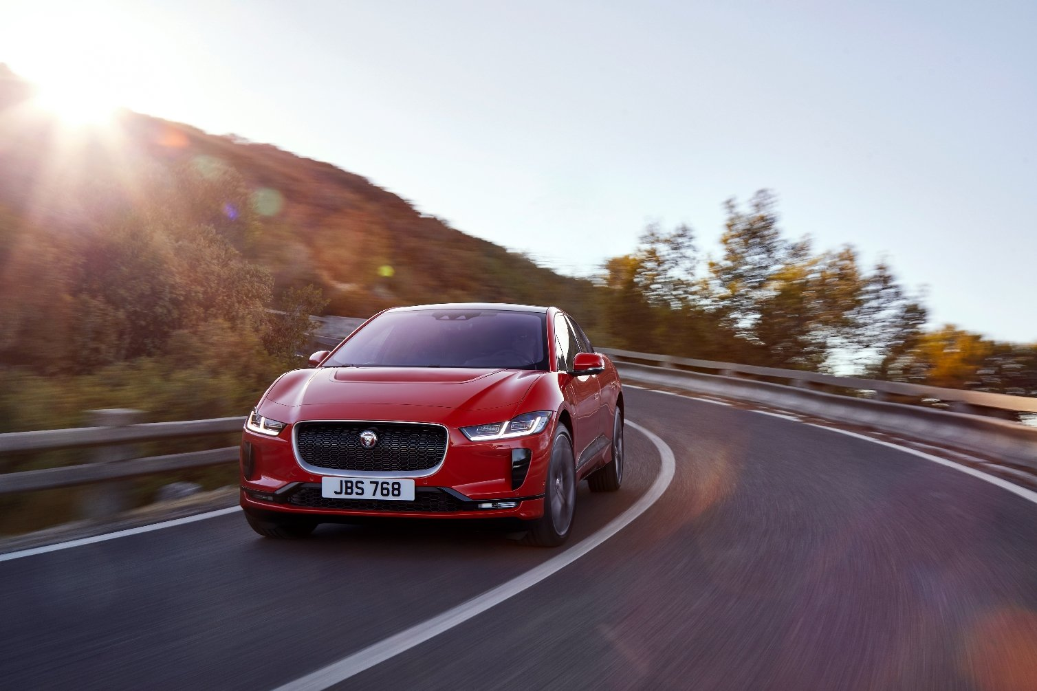 Jaguar reveals electric I-Pace