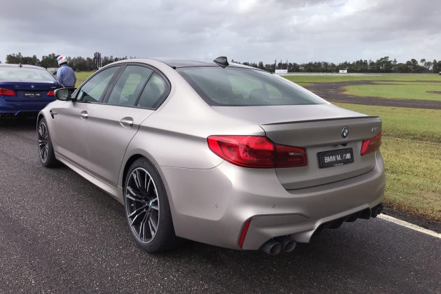 2018 BMW M5 - Australian Customer Launch