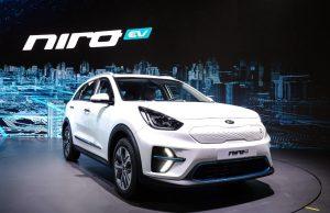 Kia Niro EV at Busan Motor Show 2018