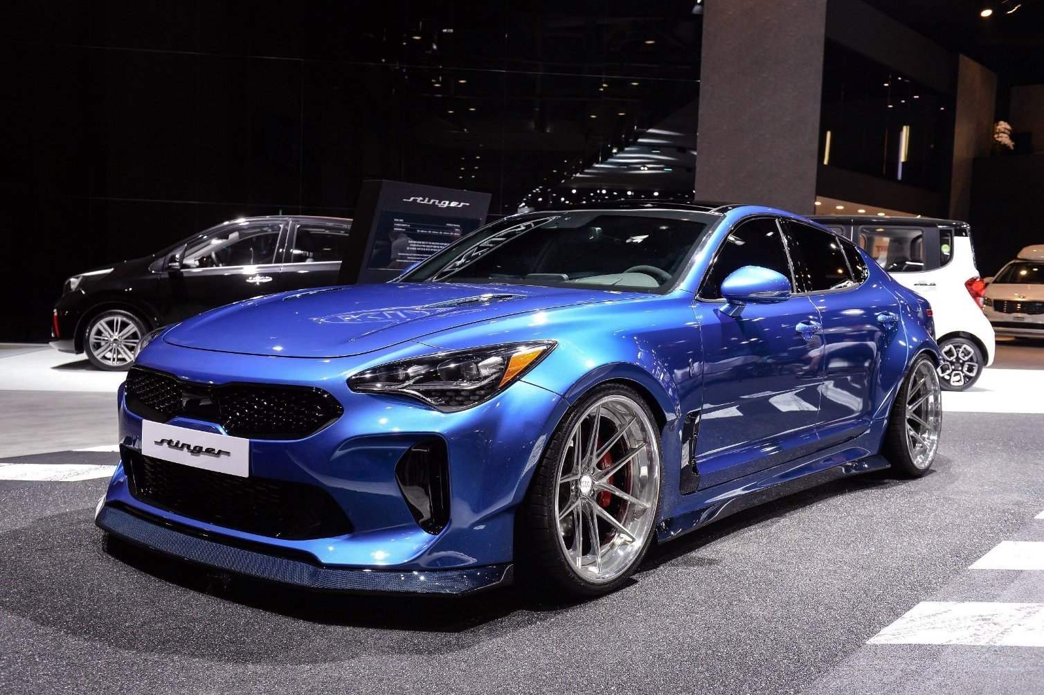 Kia Stinger GT Wide Body at Busan Motor Show 2018