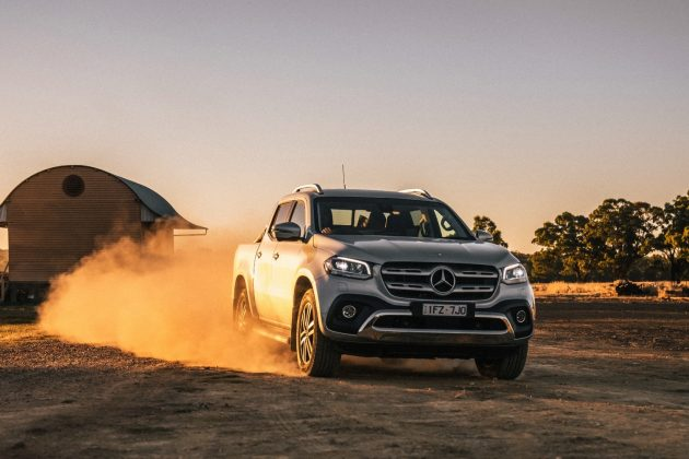2018 Mercedes-Benz X-Class X250d Power