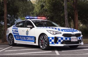 Queensland Police choose Kia Stinger