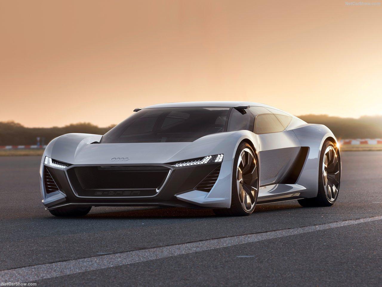 Audi PB18 e-tron concept vehicle