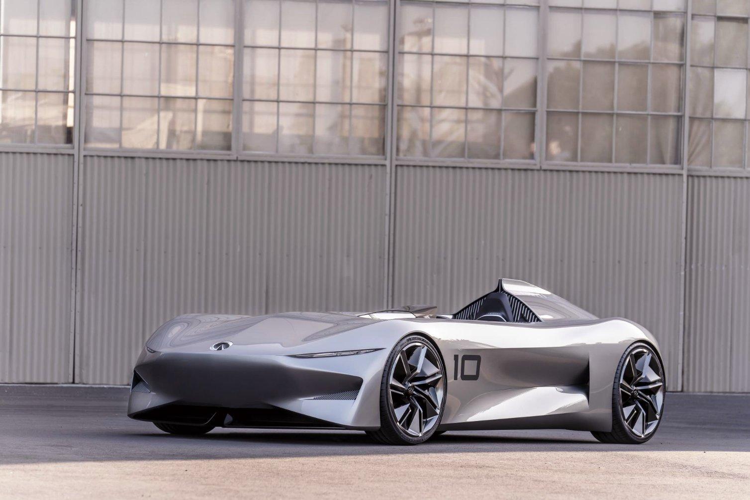 Infiniti Prototype 10 concept vehicle