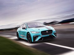 Jaguar I-PACE eTrophy race car