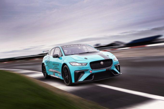 Jaguar I-PACE eTrophy race car