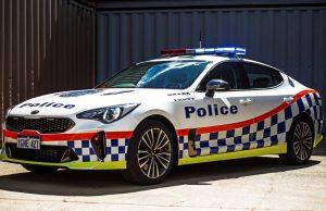 Kia Stinger joins WA Police