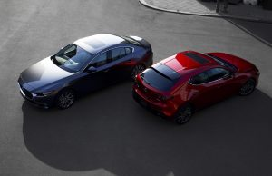 2019 Mazda3 sedan and hatch