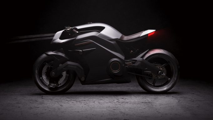 Arc electric motorcycle