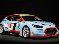 2019 Hyundai Veloster N TCR race car